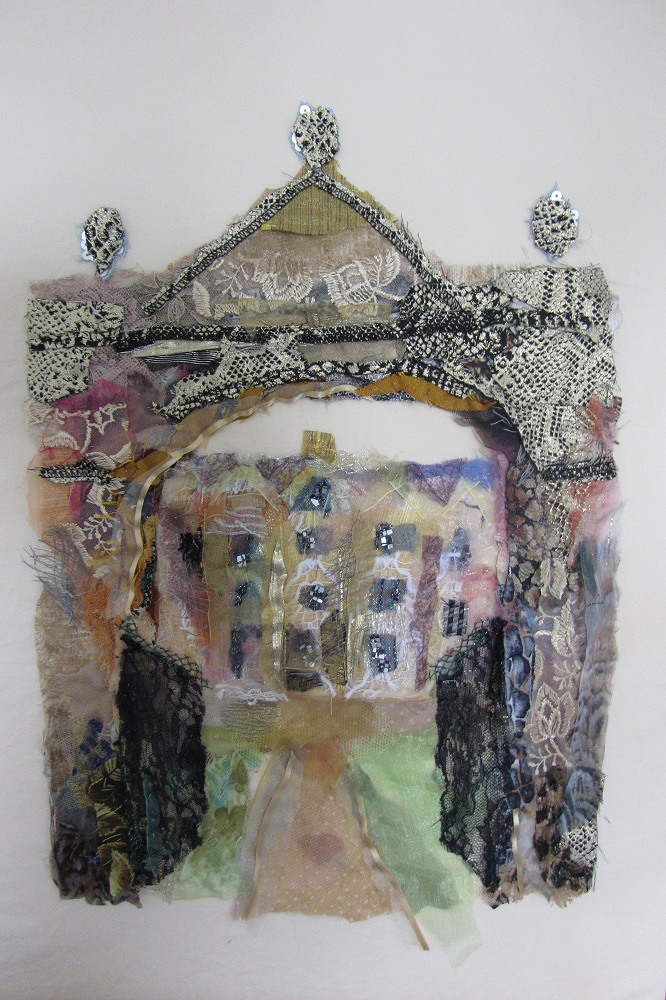 Collages textiles par Barbara Shaw