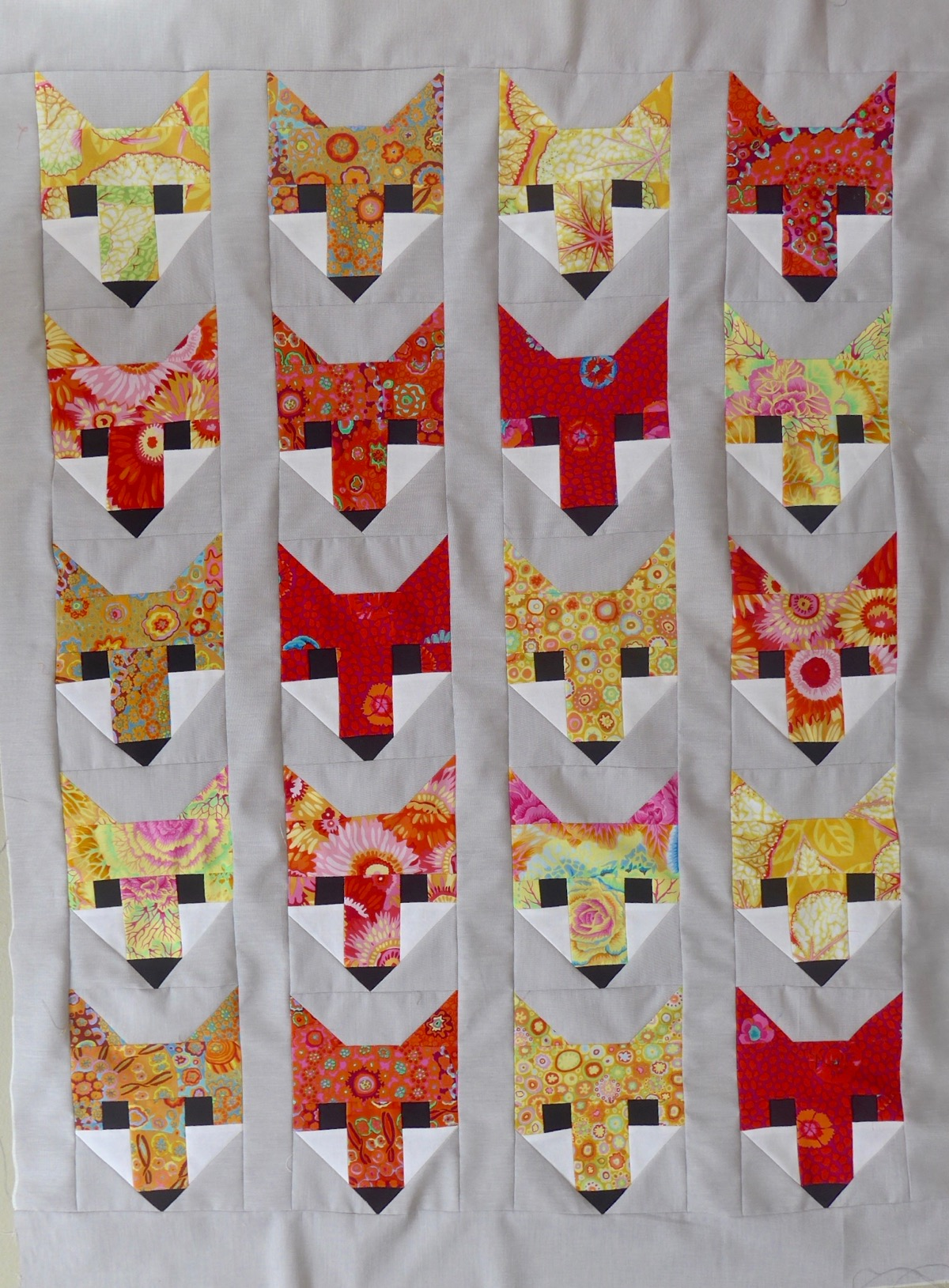 Fancy Fox par Elizabeth Hartman