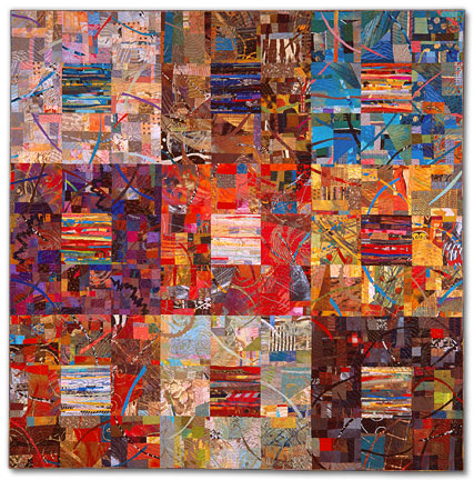 Sue Benner - Walking-Through-Time-VII-Nine-Times-Nine-1