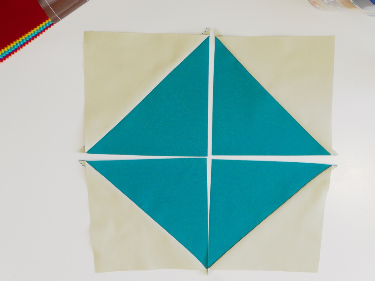 Tuto : Patchwork facile avec un layer cake
