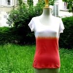 Vidéo : Comment teindre un tee-shirt en dégradé?