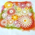 Imprimez vos tissus avec des pochoirs