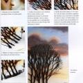 Un livre pour broder fleurs et paysages à la machine