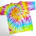 Tee-shirts tie and dye
