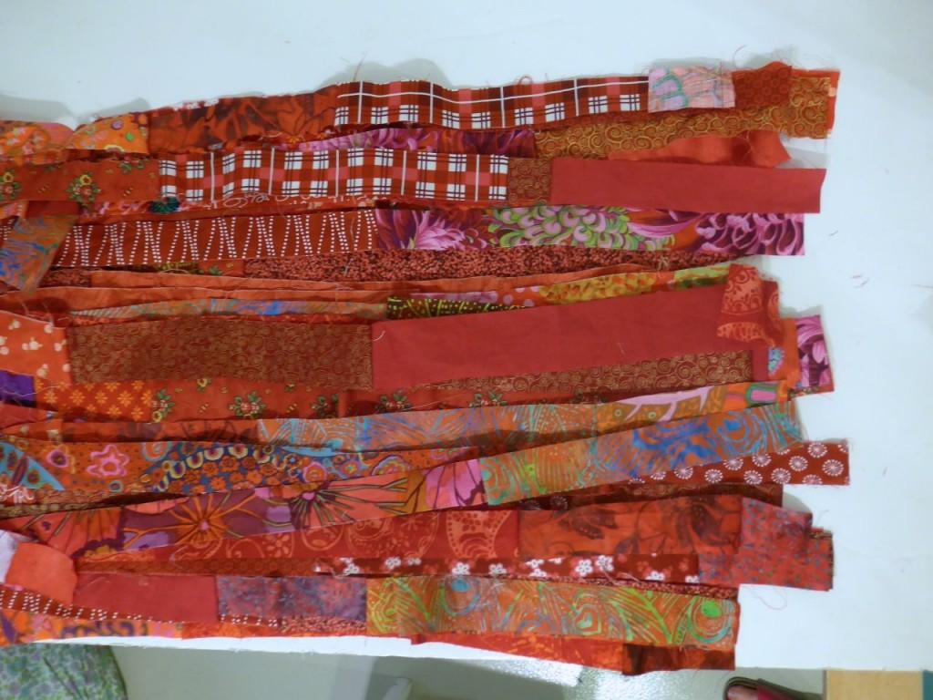 Comment Faire Un Tableau Avec Du Tissu avec des chutes… | l' atelier d emma