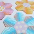 Tuto : les hexagones méthode anglaise avec de la colle