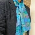 Tuto : Une écharpe en soie