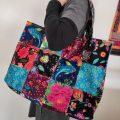 Tuto : mon sac patchwork en velours Odile Bailloeul