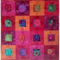 Un nouveau modèle de patchwork : Mise en plis